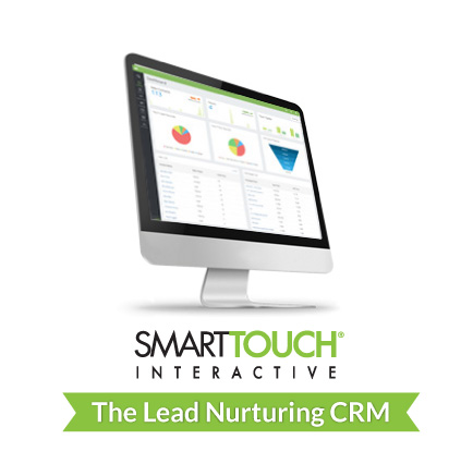 ST computer with ST Logo and Lead Nurturing CRM Tag Leads_Infograph_May2015_2