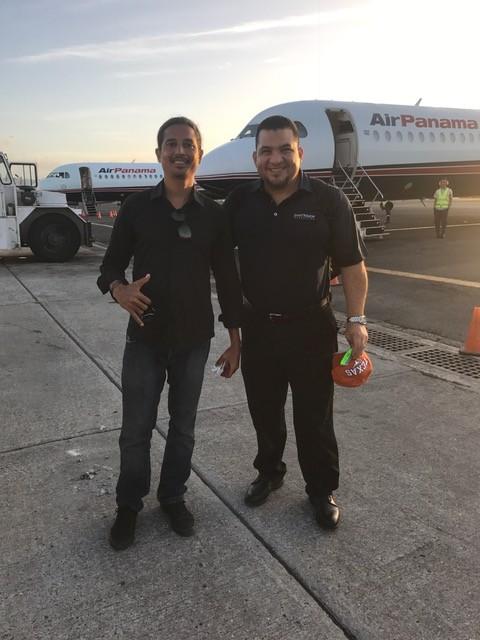 Robert Cowes & Bruno Sanchez Airport