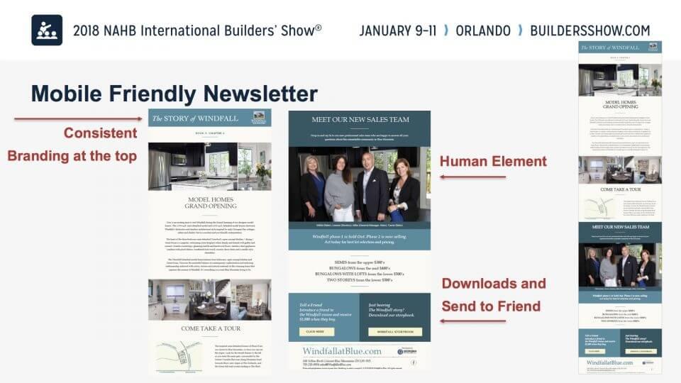 Mobile Friendly Newsletter