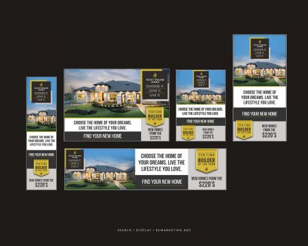 Scott Felder Homes Choose It Love It Live It Digital Ads