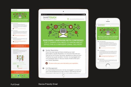 SmartTouch Confident Email Delivery Email