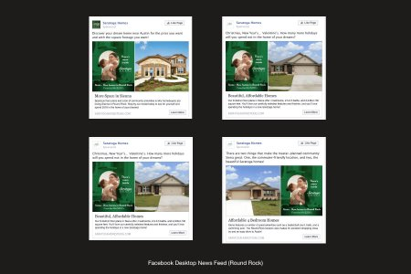 Saratoga Homes Facebook Ads