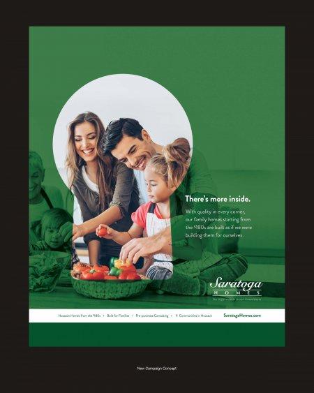 Saratoga Homes Ad Concept