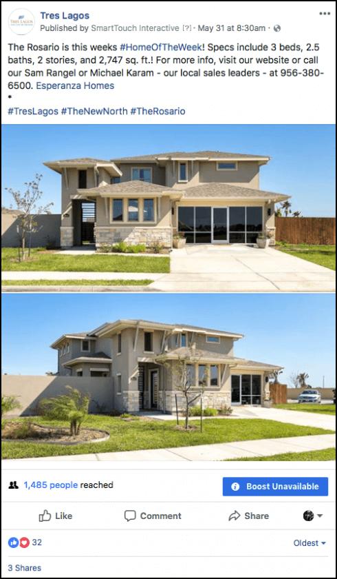 Organic Facebook Real Estate Marketing