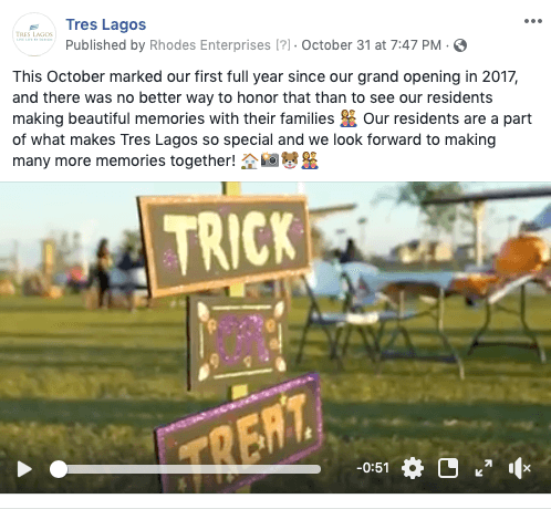 Home Builder Facebook Post Ideas - a video is worth a 1000 engagements