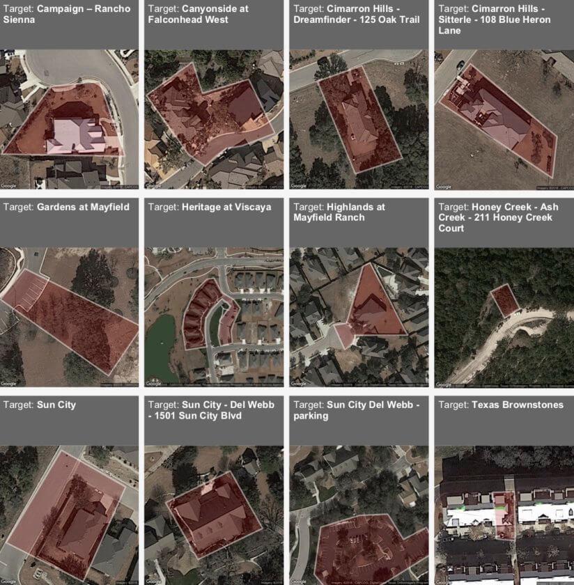 Homebuyer Geofencing Target Zones