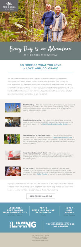 personalized best home builder marketing emails