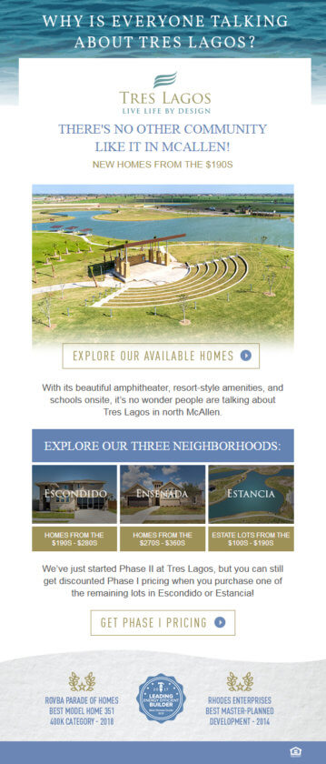 best home builder marketing emails short and sweet 2