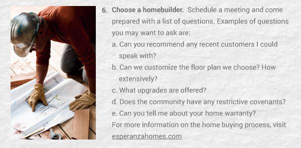 best home builder marketing content emails