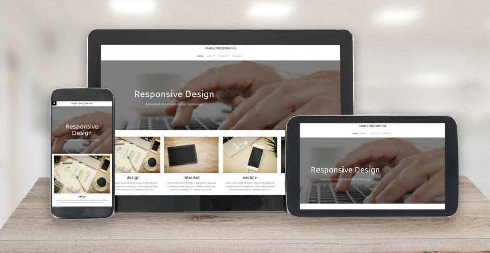 home builder microsite design