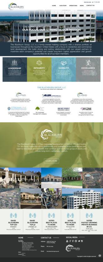 real estate group website