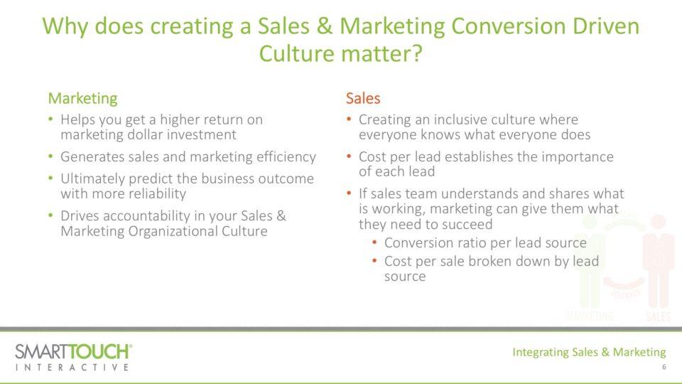 Integrating Sales & Marketing 2