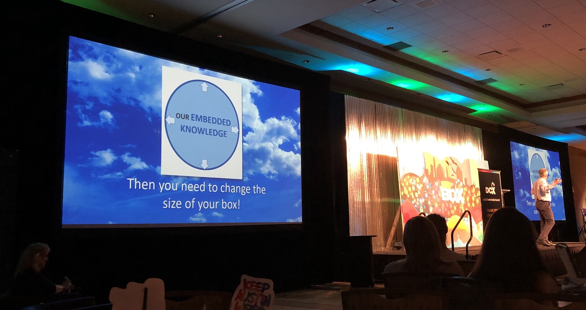 DCX keynote slide