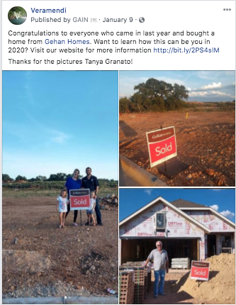 new homeowners on social media
