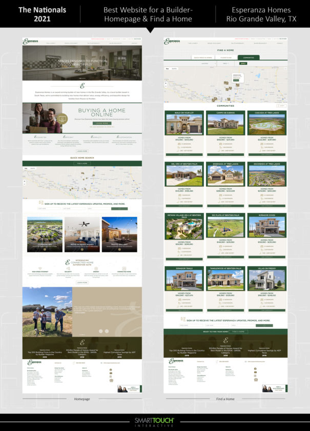 Esperanza Homes Website