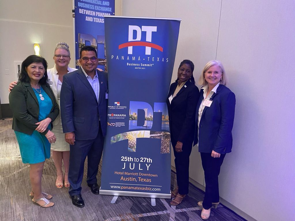 CEO Robert Cowes Poses At Texas Panama Business Summit