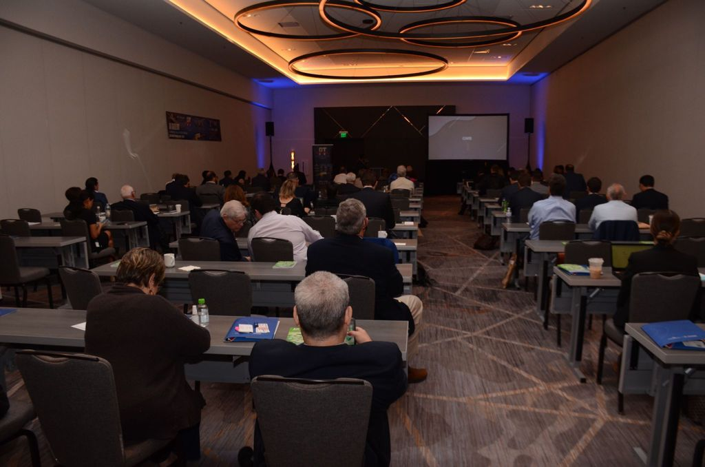 Listeners At The Texas Panama Business Summit Conference