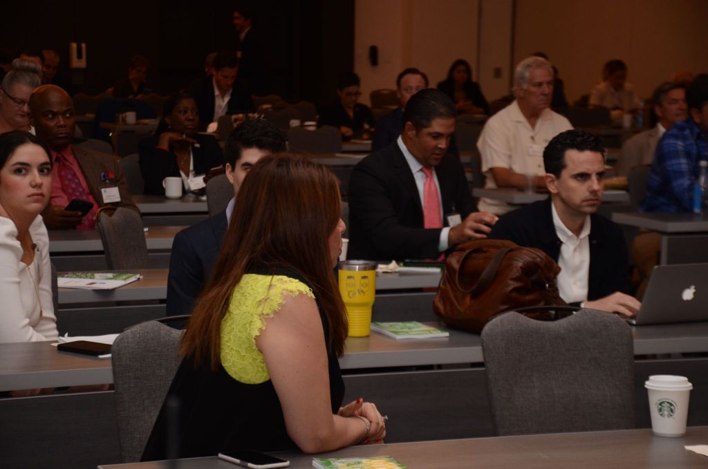 Audience At The Texas Panama Business Summit