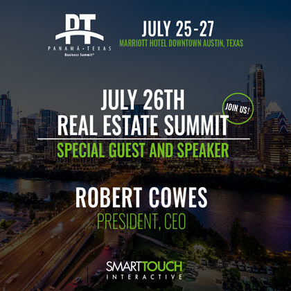 Robert Cowes speaking on July 26th